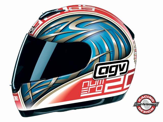 Casco AGV MOTOCICLISMO 2000