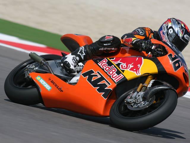Kallio renueva con KTM