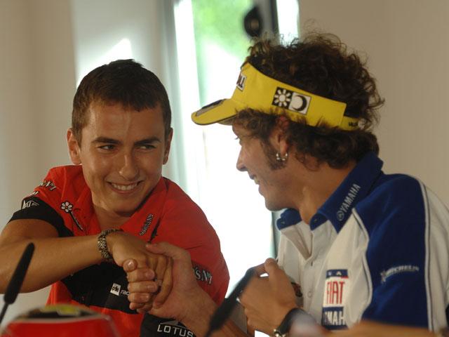 Lorenzo: «Rossi siempre ha sido simpático conmigo»