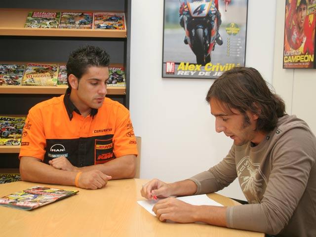 Video-entrevista: Iván «tres» Cervantes en Motociclismo