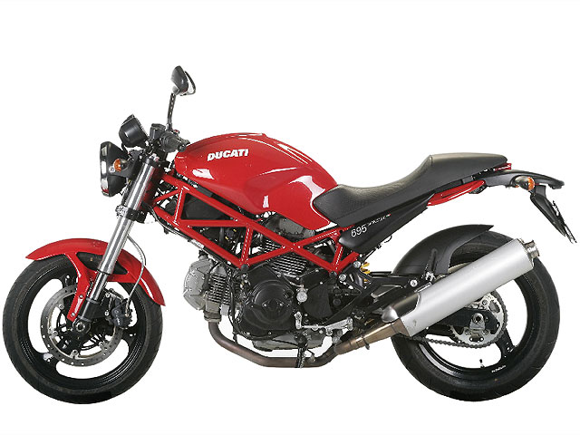 Fotos espía de la Ducati Monster