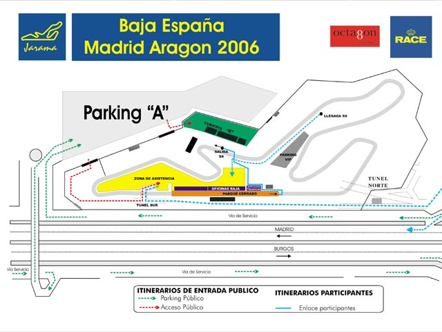La Baja España-Madrid Aragón 2006 llega a Madrid