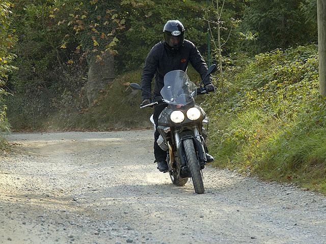 Primeras fotos de la Moto Guzzi Stelvio