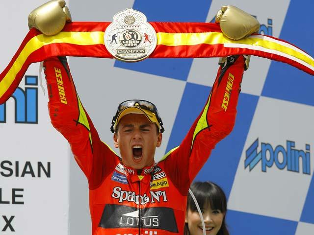 Imagen de Galeria de Lorenzo Bi Campeón del Mundo
