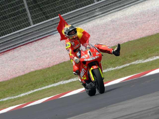 Las mejores imágenes del GP de Malasia