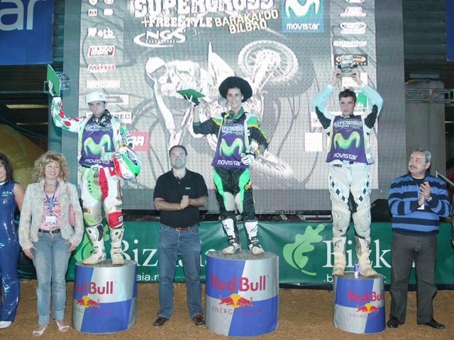 El Musquin venció en el Supercross de Bilbao