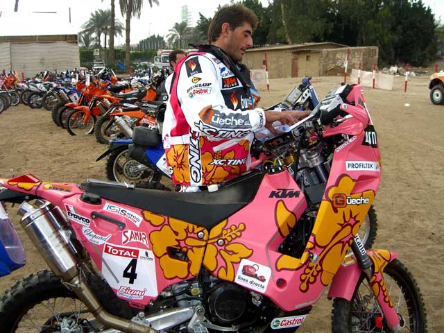 Pellicer ya prepara el Dakar