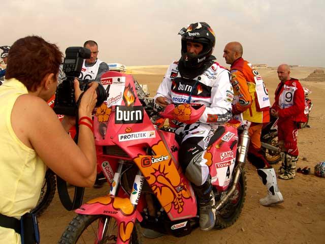 Imagen de Galeria de Pellicer ya prepara el Dakar