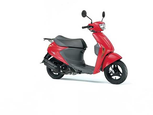 Dos nuevos scooter de Suzuki en Tokyo