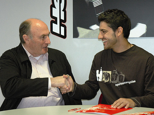 Cervantes y Hebo, juntos en 2008