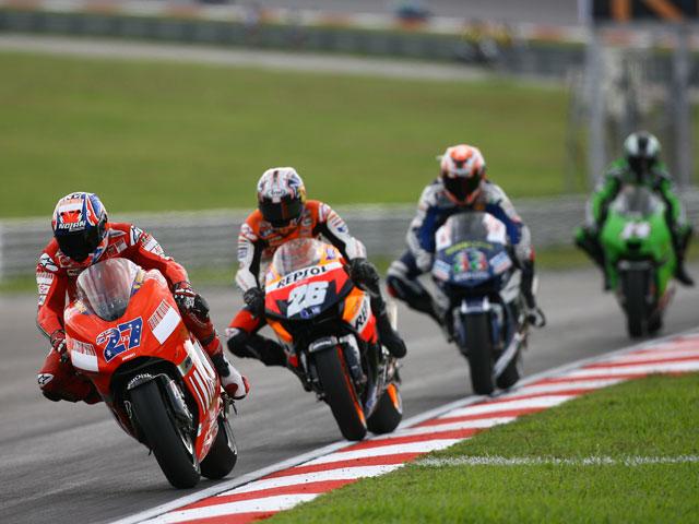Faubel tras la corona de campeón del mundo de 125 cc