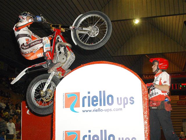 Victoria de Raga en el Trial Indoor de Girona