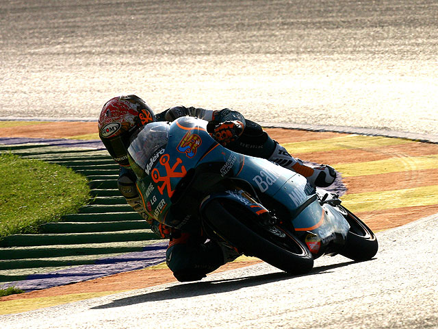 Gabor Talmacsi Campeón del Mundo de 125 cc.