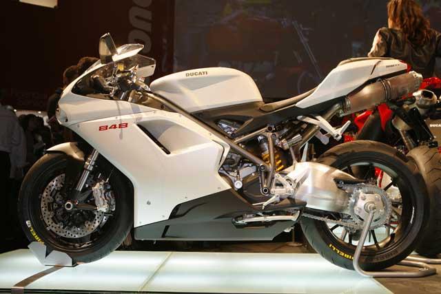 Novedades 2008: Ducati 848