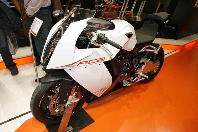 Novedades 2008: KTM RC8