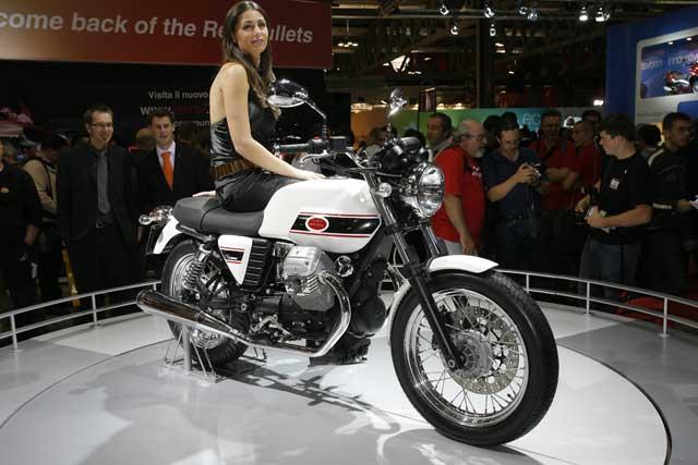 Novedades 2008: Moto Guzzi V7
