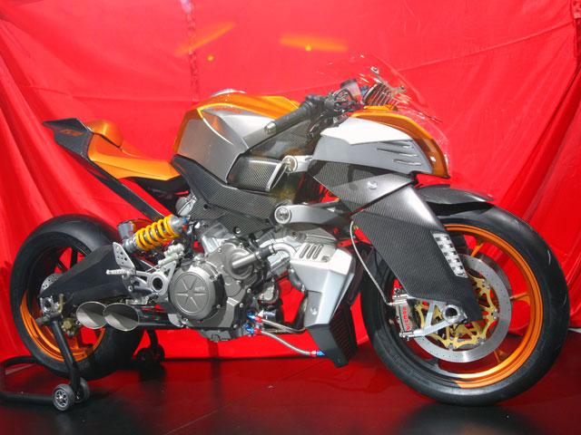 Novedades 2008: Aprilia FV2 1200
