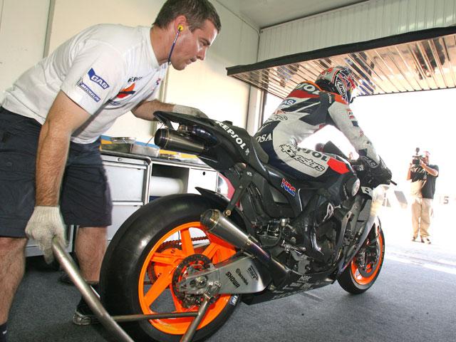 Lorenzo con los mejores de MotoGP