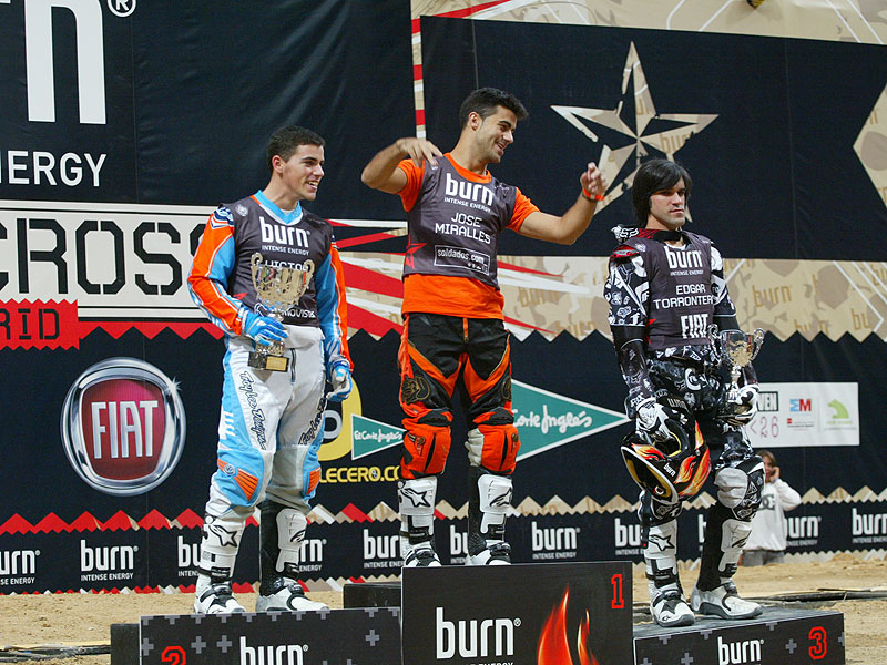 Miralles gana el Freestyle de Madrid