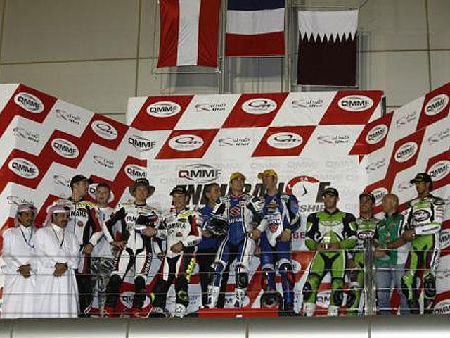 Silva/Carrasco/Al Naimi, podio en el  Mundial de Resistencia