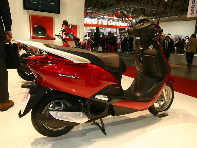 Novedades 2008: Honda Lead 110