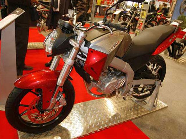 Novedades 2008: Motor Hispania RX 125 R / MH7 Naked 125 / Duna 125