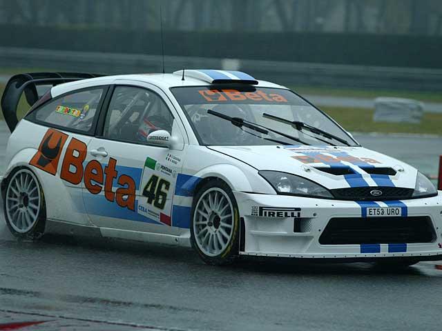 Valentino Rossi gana el Monza Rally Show