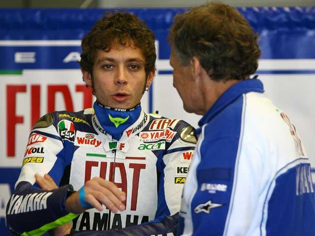Pedrosa y Lorenzo, primer día en Jerez
