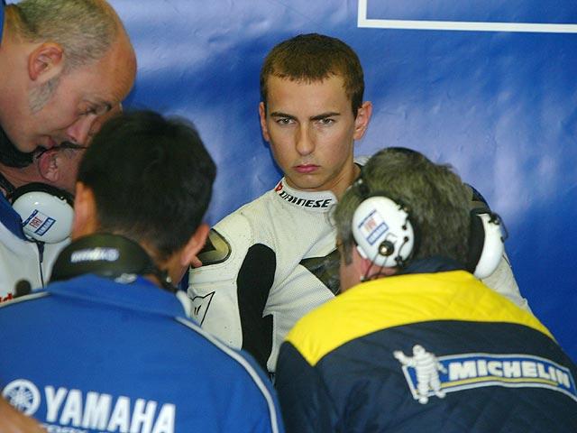 Jarvis consciente de la división entre Lorenzo y Rossi