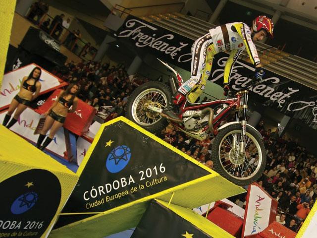 Victoria de España en el Trial Indoor de las Naciones