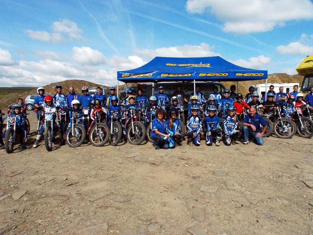 Sherco becará a los jóvenes pilotos de trial