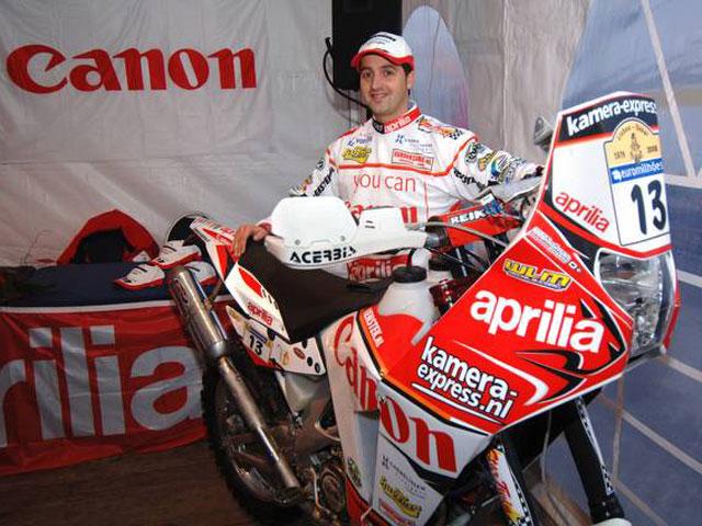 Aprilia participara en el Dakar 2008