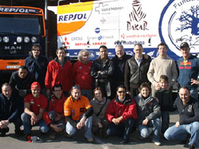 Esteve irá al Dakar Solidario