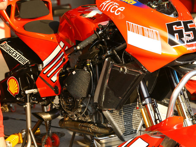Bajo la lupa: Ducati Desmosedici GP7