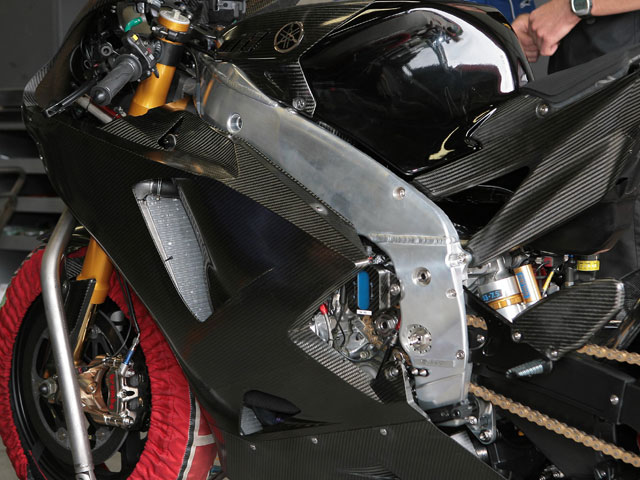 Bajo la lupa: Yamaha YZR-M1