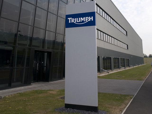 Triumph despega