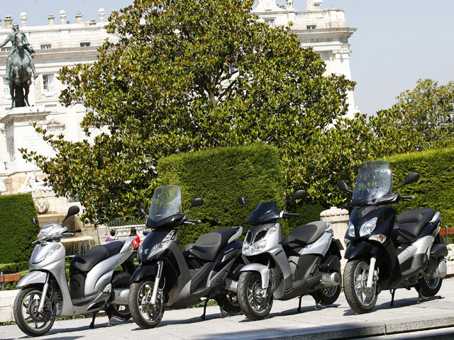 Scooter de más de 125 cc.