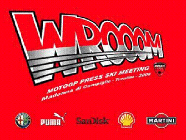 """Wrooom '08"": Rueda de prensa de Stoner y Melandri"