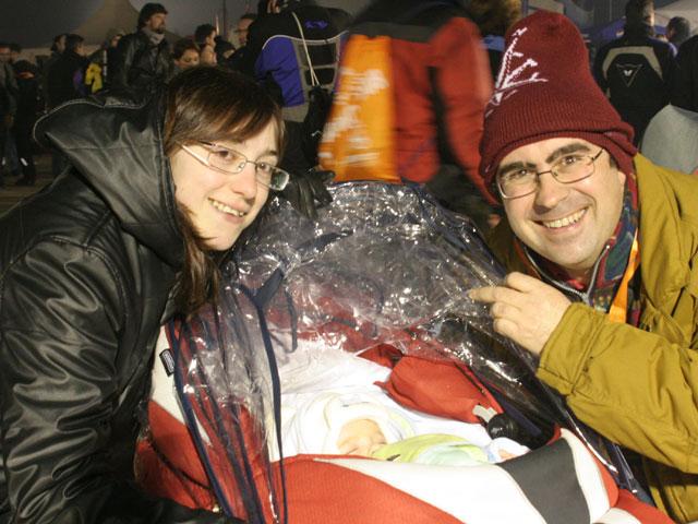 Pingüinos 2008: Desfile de antorchas