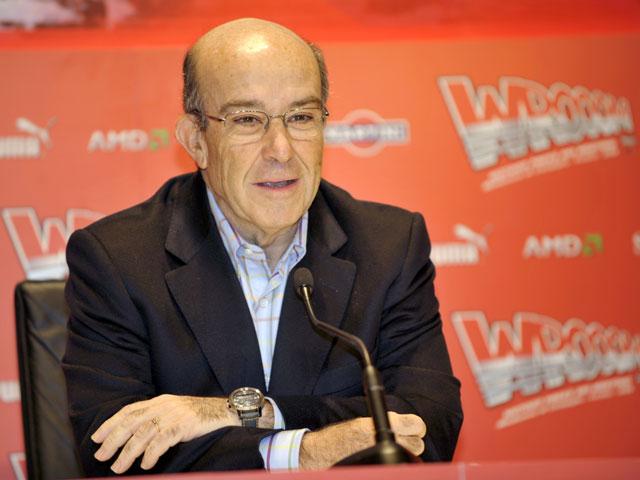 Imagen de Galeria de Carmelo Ezpeleta: «En MotoGP no soy partidario de quitar el control de tracción»