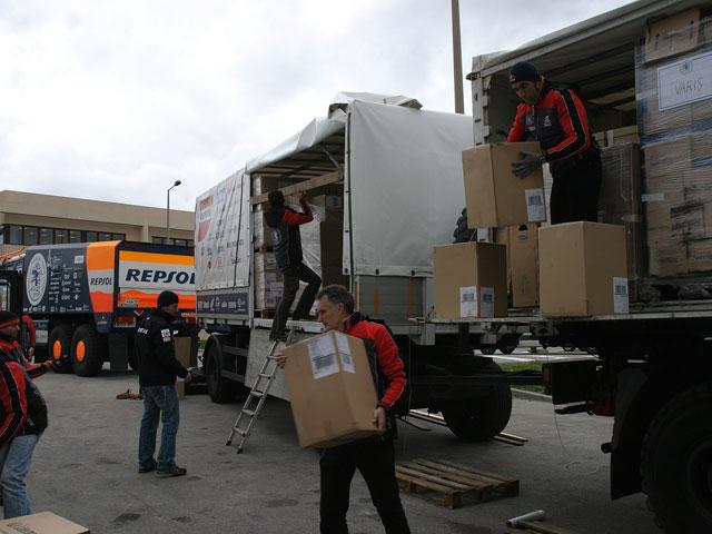 El Dakar Solidario llega a Mauritania