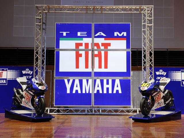 Presentación del equipo FIAT Yamaha de MotoGP