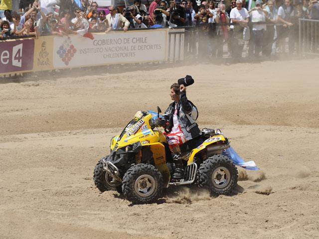 Dakar 2009 (clase Quad): victoria de Peña