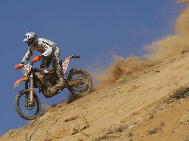 Santolino y KTM estrenan el nuevo Cross Country