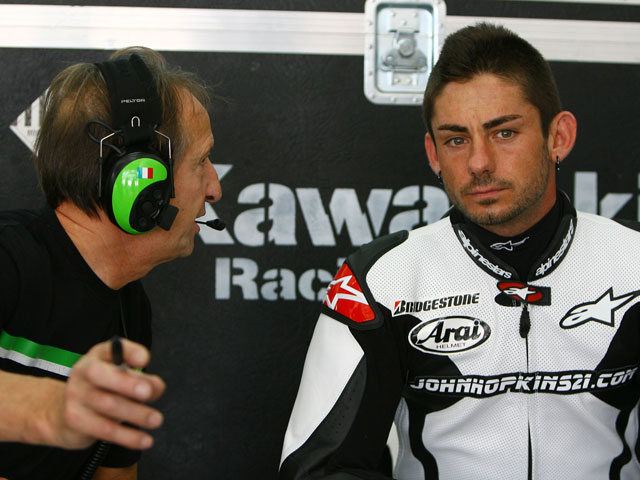 """Imagen de Galeria de Casey Stoner (Ducati): """"He sufrido calambres en el brazo y he parado"""""""