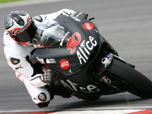 """Toni Elías (Ducati Alice Team): """"Quizás no debería estar aquí"""""""