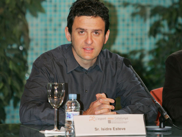Isidre Esteve, director del Circuit de Catalunya de Motocross
