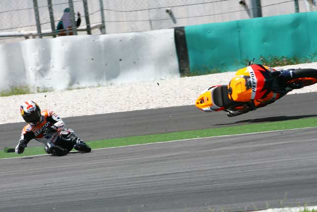 Pedrosa no estará en los próximos entrenamientos de MotoGP