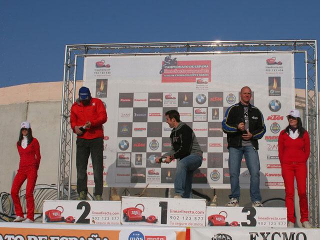 Xavi Galindo con KTM se lleva la segunda del Cross Country