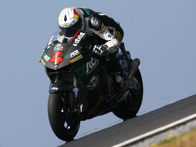 Casey Stoner (Ducati), medio segundo por delante